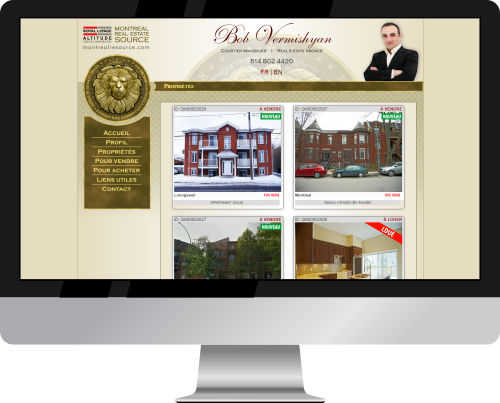 Bob Vermishyan Website